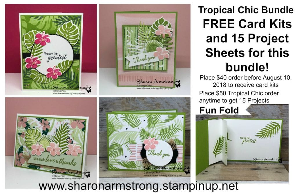 Free 14+ Designs Tropical Chic Card Kit