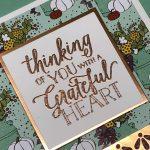 Elegant Handmade Card Using the New Falling for Leaves Bundle