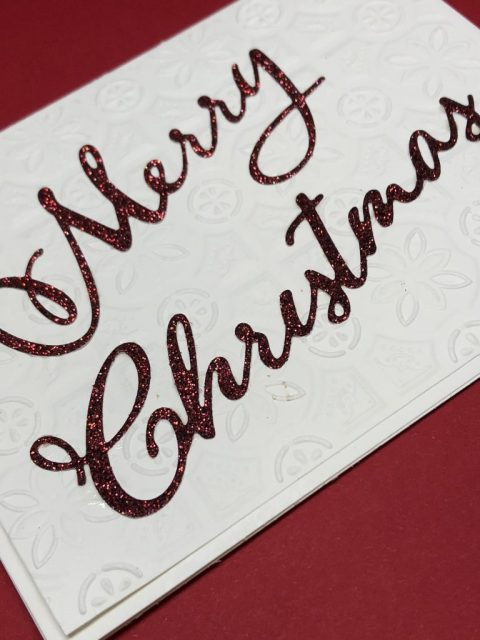 Easy Christmas Card design ideas and tutorials on my blog. Sharon Armstrong with TxStampin
