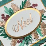 Stampin' Up! Peaceful Noel Holiday Card