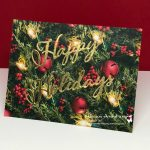 5 Minute Holiday Greeting Card