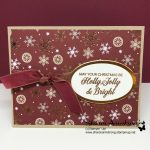 Fancy DIY Christmas Card: Quick and Easy