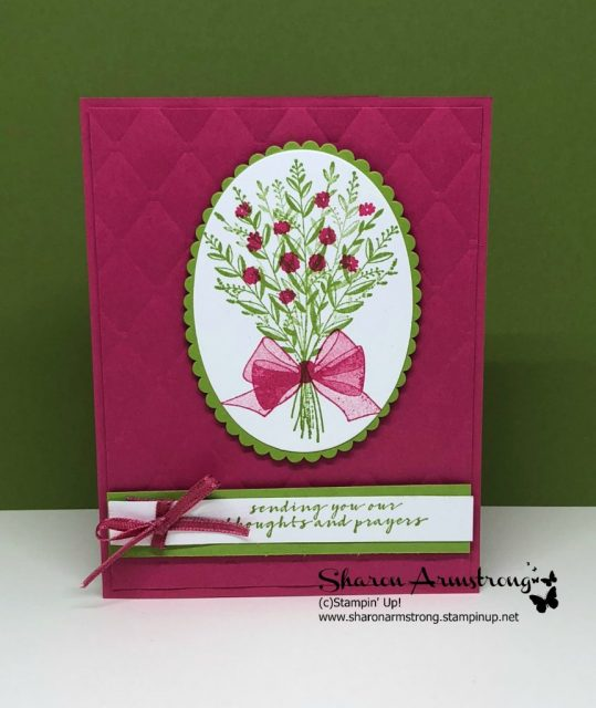 Card making design ideas with video tutorials for all occasions with Sharon Armstrong, TxStampin Sharon. Learn how to make this handmade greeting card today! #cardmaking #stampinupcards #greetingcards