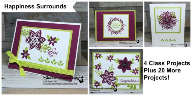 Card Making Kits by Sharon Armstrong, TxStampin Sharon