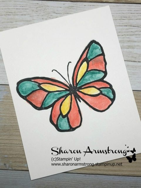 Aqua Painter, Water Brush Pen...whatever you call it the cardmaking tips and techniques are really fun! Join Sharon Armstrong with TxStampin Sharon for a video tutorial demonstrating multiple ways to use these water brush pens to give your handmade card or paper craft the perfect watercolor look! #cardmaking #papercraft #greetingcards #stampinupcards #sharonarmstrong #txstampin