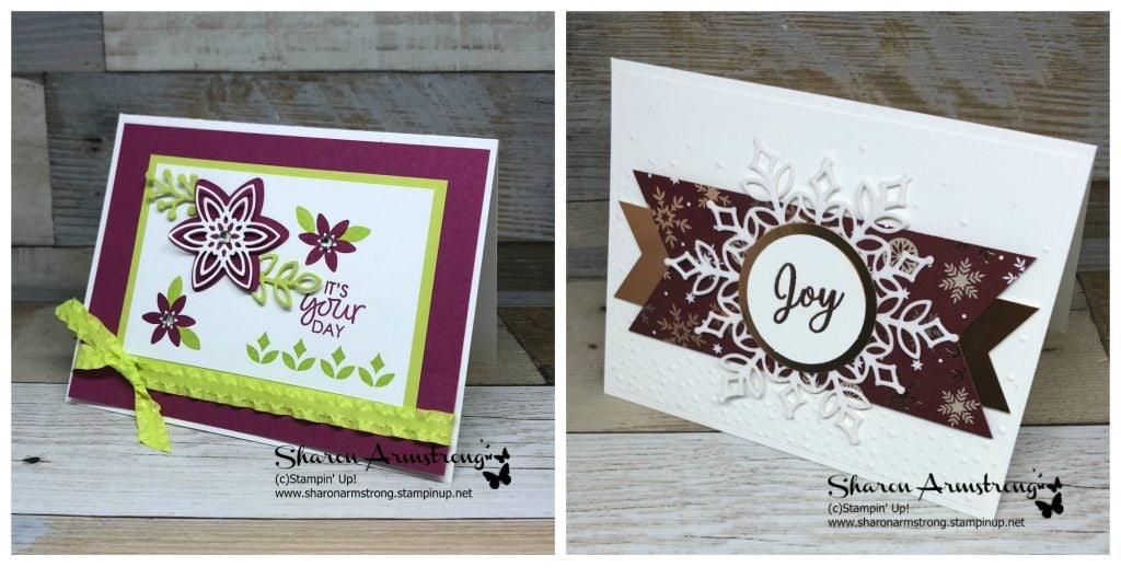 Card Making Kits | November 2018 by Sharon Armstrong