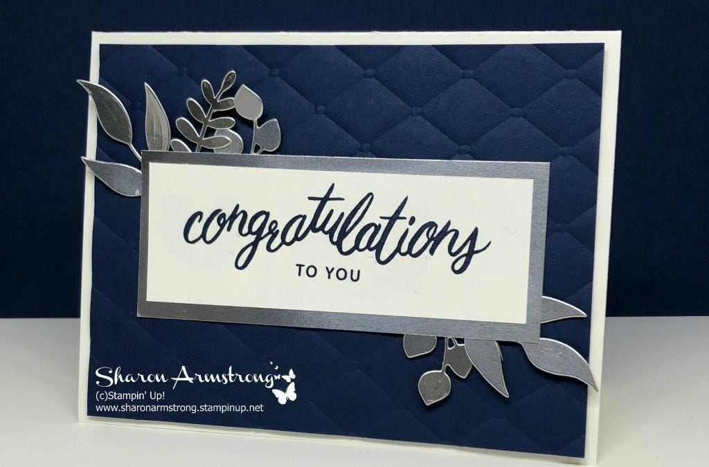 Congratulations Card: Friendly Expressions