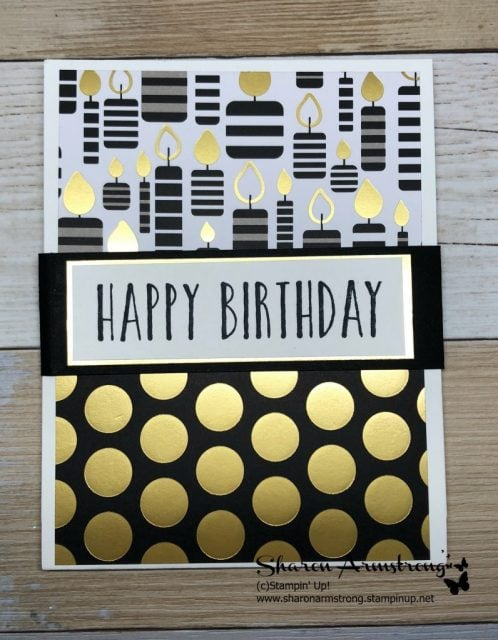 Handmade Birthday Card Doubles As Gift Holder