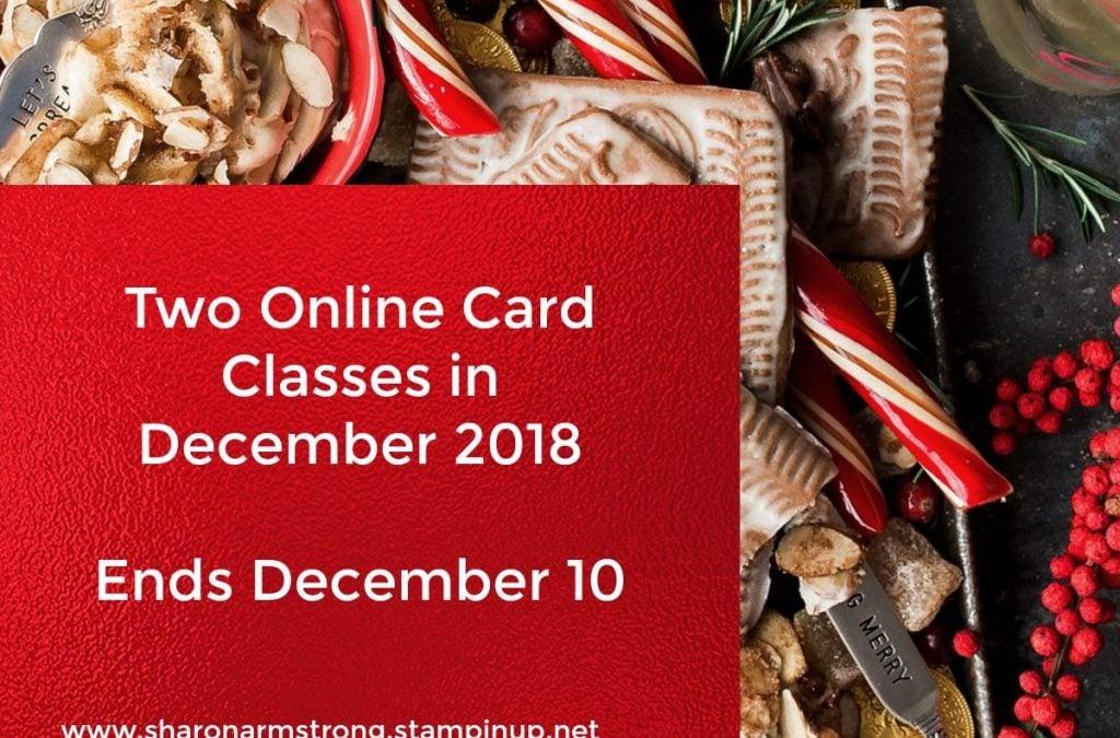 Card Making Kits December 2018