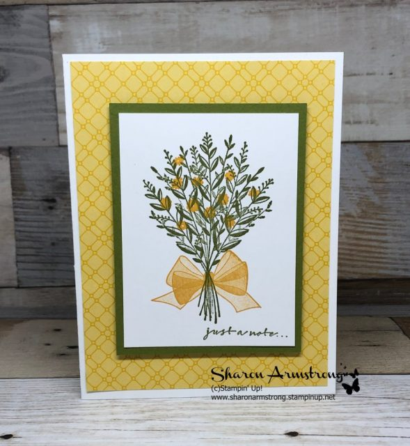 5 Minute All Occasion Card: Wishing You Well