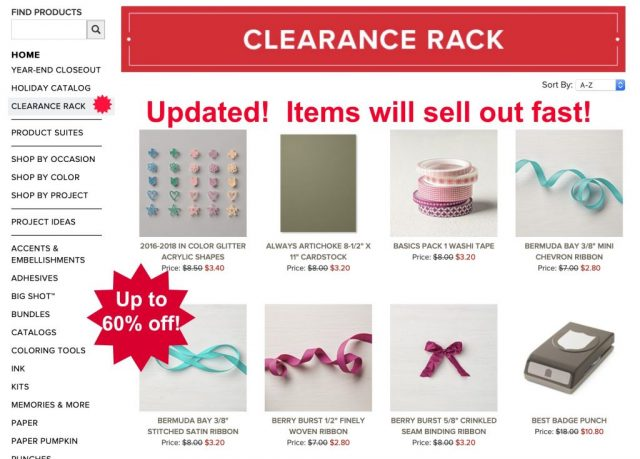 Clearance-Rack-Cardmaking-Supplies