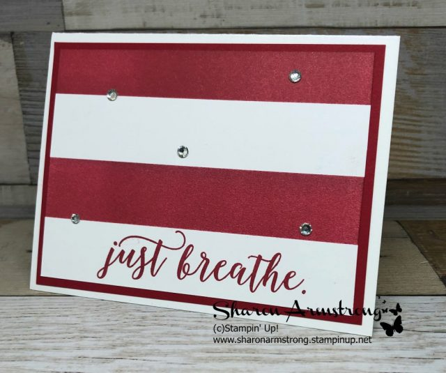 Here is a Masking Technique: Easy Cardmaking Technique to create any colored background that you want! Come make a handmade card with me! Lots of other card making ideas on the site. Sharon Armstrong - www.txstampin.com - #simplestamping #handmadecards #cardmaking #sharonarmstrong #txstampin #txstampinsharon