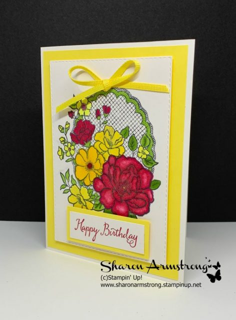 Floral-Birthday-Card-Handmade-in-Yellow-and-Red