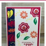 3 Cards: Colorful Bloom by Bloom Made in 10 Minutes