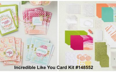 Splendid Cardmaking Fun | Incredible Like You Project Kit by Stampin' Up!