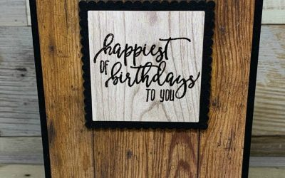 Rugged Happy Birthday Card for Guys Made in a Flash