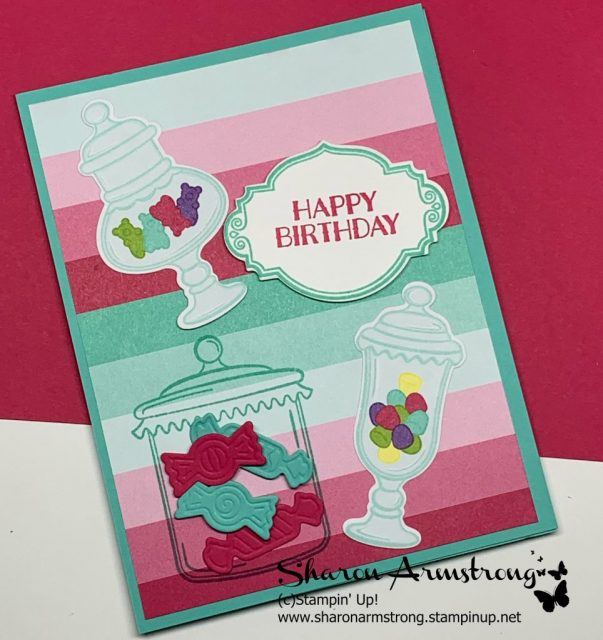 Birthday-Card-with-Candy-and-Candy-Jars-in-Bright-Colors