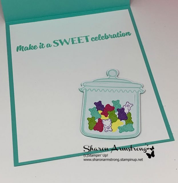 Happy Birthday Easel Card with Die Cut Candy Using Sizzix Big Shot