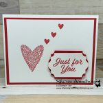 Simple Stamping Makes a Charming Valentine Card