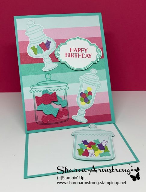Card-Making-Tutorial-for-Easel-Card-with-Candy-and-Candy-Jars