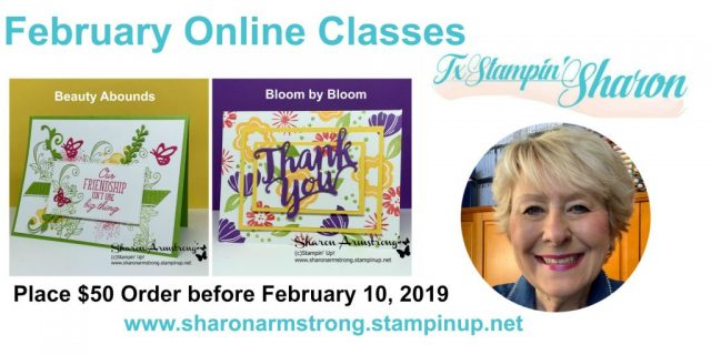 February-2019-Online-Class-Handmade-Card-Samples-by-Sharon-Armstrong-TxStampin-Sharon