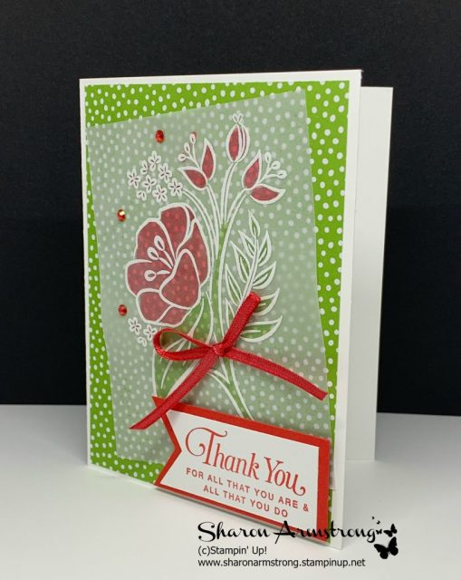 Floral-Card-Using-Vellum-and-White-Embossing-Powder-Colored-with-Alcohol-Markers