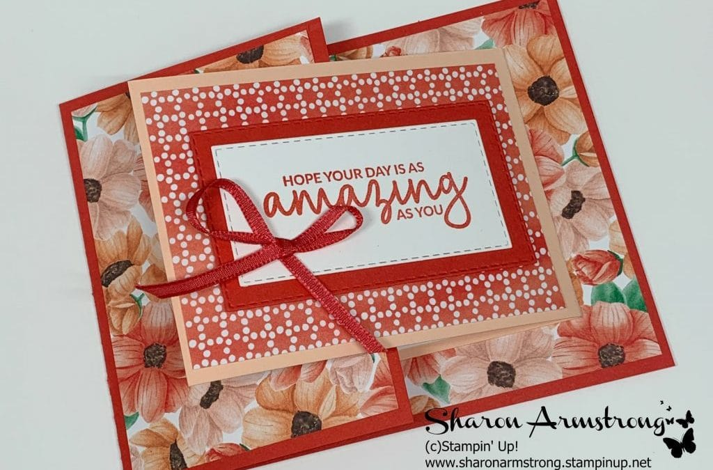 This is a Fun Fold Card You'll Feel Proud to Make