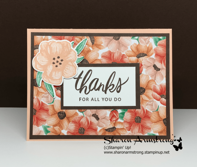 Handmade-Thank-You-Card-by-Sharon-Armstrong-Tx-Stampin