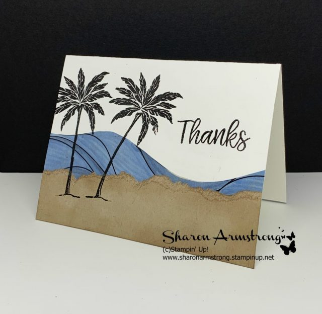 Beach-Happy-Card-with-Sand-Water-and-Palm-Trees-Thank-You-Card