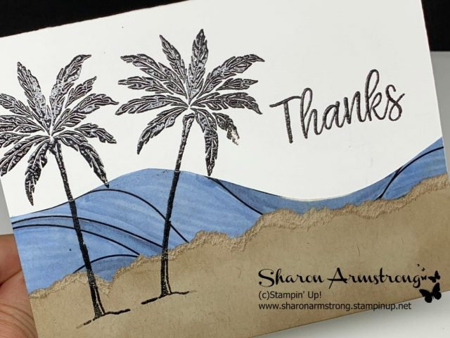 Beach-Happy-Thank-You-Card-by-Sharon-Armstrong-TxStampin