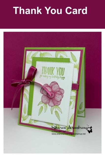 Colorful-Layering-on-a-Thank-You-Card-with-Stamped-Background-in-Green-Leaves