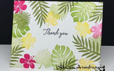 5 Minutes: How to Make a Lovely Greeting Card