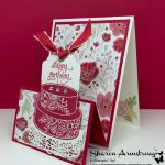 You'll be Proud to Make this Double Easel Fold Card