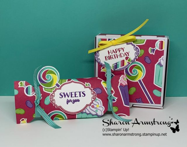 Party-Favors-Made-with-Candy-Theme-Scrapbook-Paper-by-Sharon-Armstrong