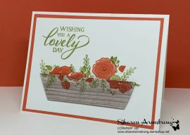 How To Make a Forever Lovely Flower Box Greeting Card