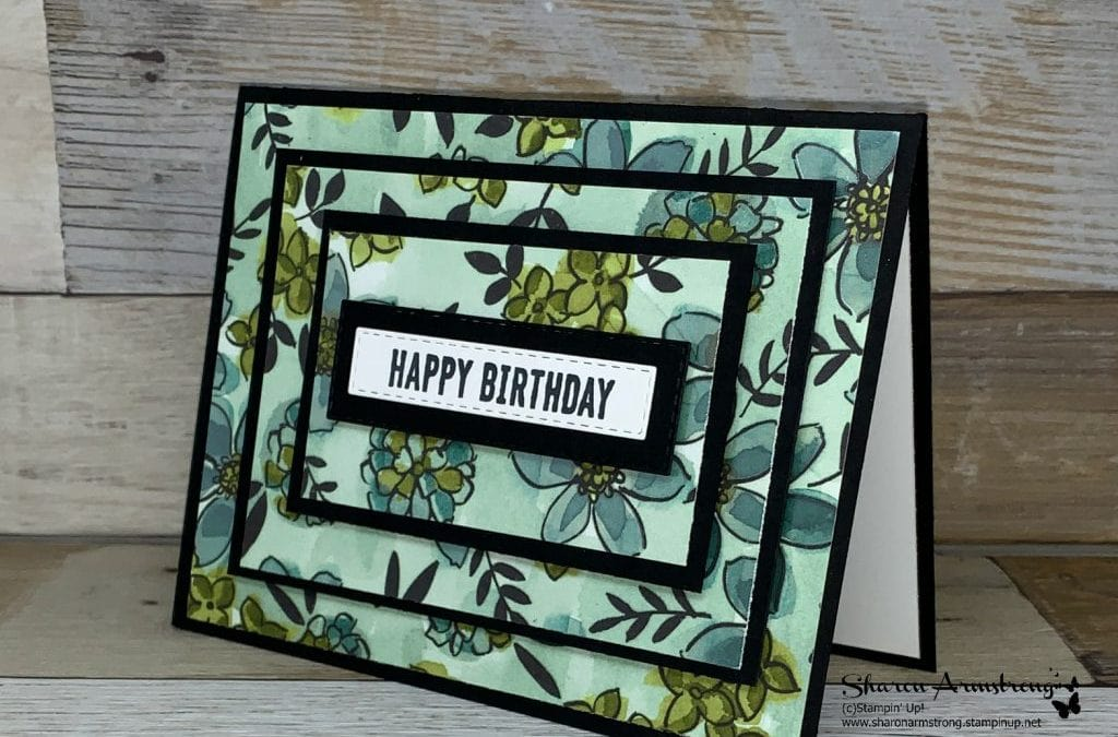 How to Make a Happy Birthday Card Fast!