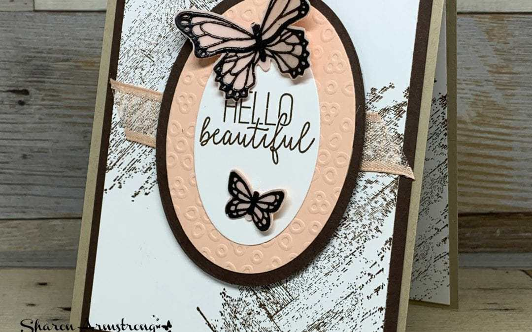 New 3D Embossing Folder: A Helpful Quick Start Guide + A Butterfly Greeting Card