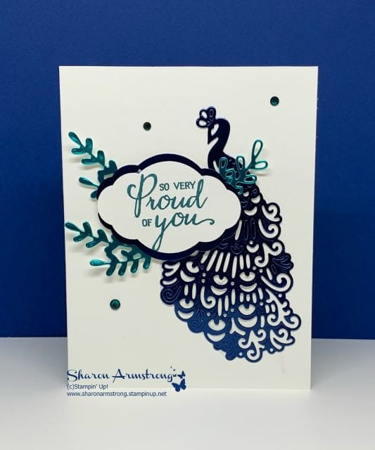 Foil-Layer-Die-Cut-on-Handmade-Greeting-Card