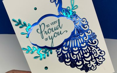 How to Make Handmade Cards the Easy Way with a Foil Layer
