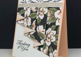 Make A Drapery Fold Card Easily in 8 Steps