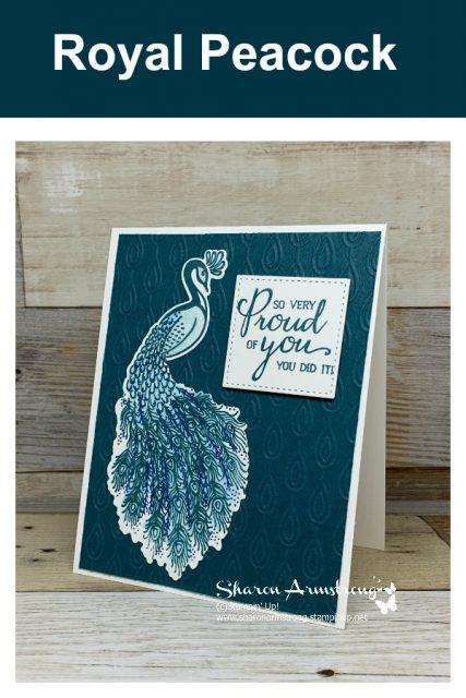 Peacock-card