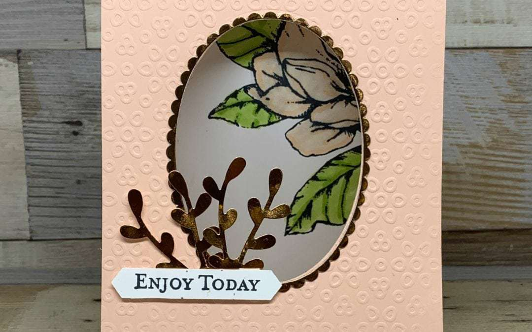 A Greeting Card Tent Fold to Make with Good Morning Magnolia