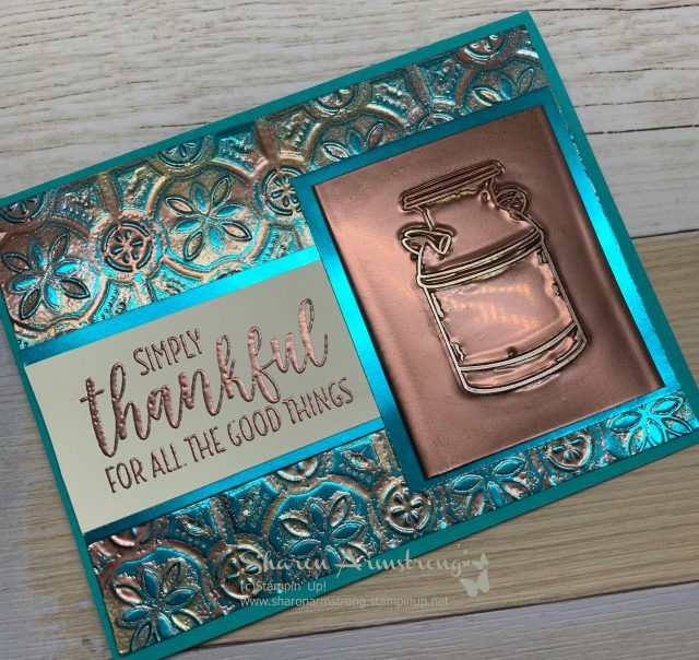 Embossed-Stamping-Technique