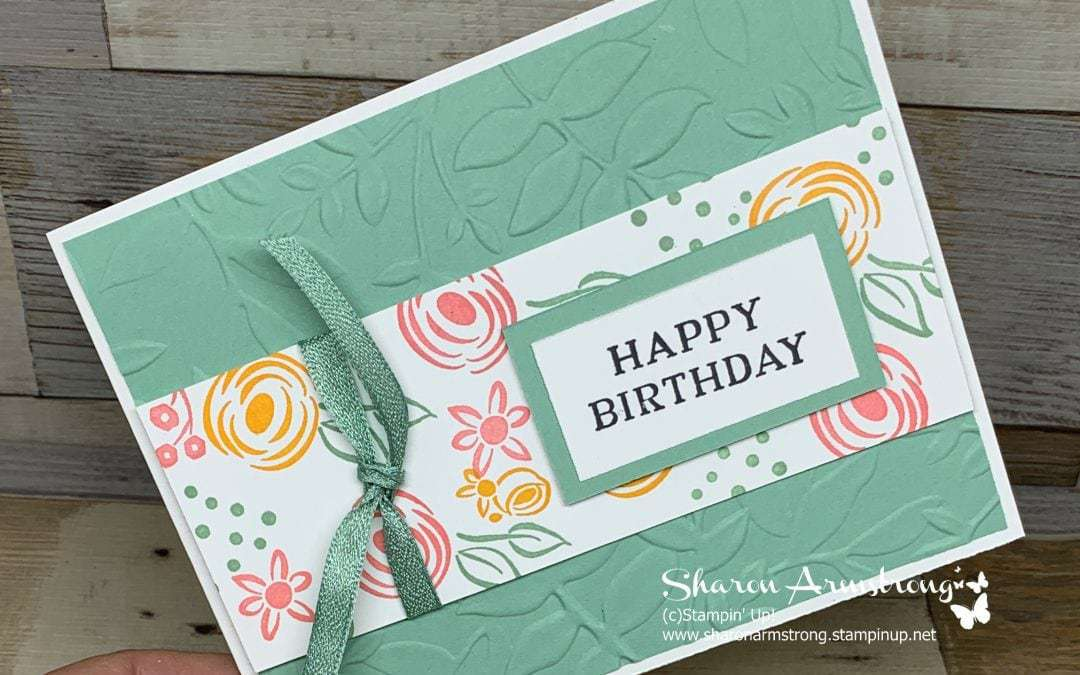 DIY Birthday Card That You Can Make Quickly