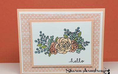 A Hello Card That's Quick to Make + Bloomin' Fun September Card Kit