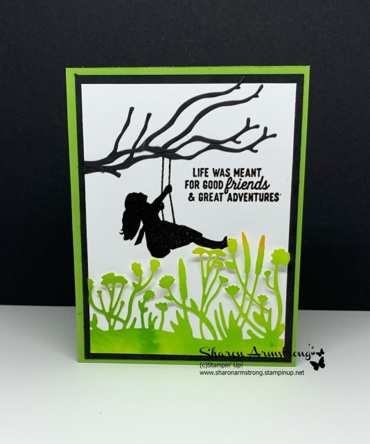 Silhouette-Scene-Greeting-Cards