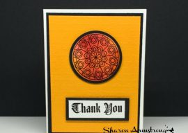 Want to Know How to Get a Stained Glass Look on a Greeting Card