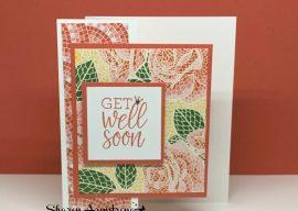 Get Well Soon Fun Fold Card