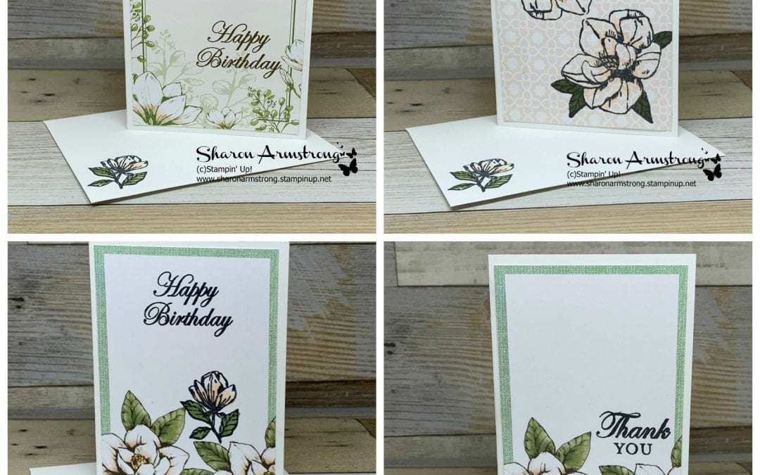 Don't Miss Out! Make Life Easy with this Card Kit | Magnolia Lane Card Kit
