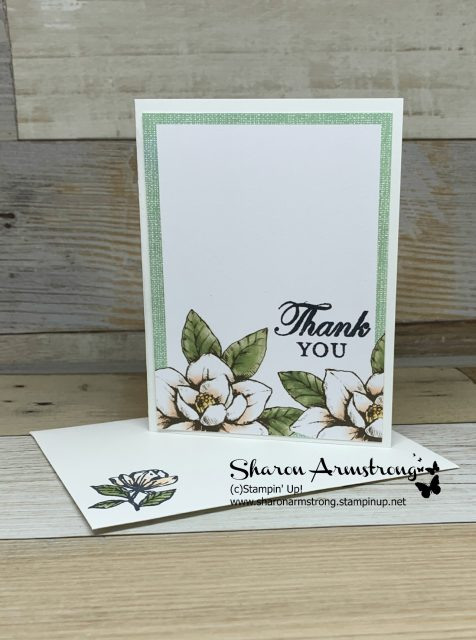 Card-Kit-Sample-Handmade-Thank-You-Card-with-Magnolias